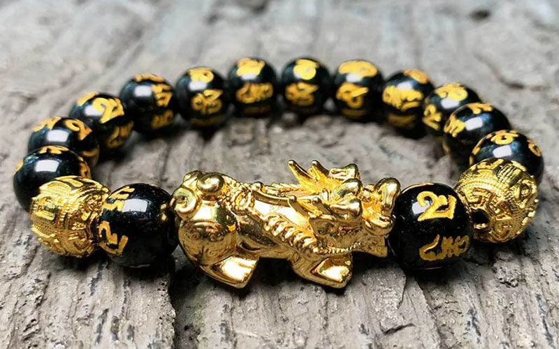 feng shui black obsidian wealth bracelet benefits