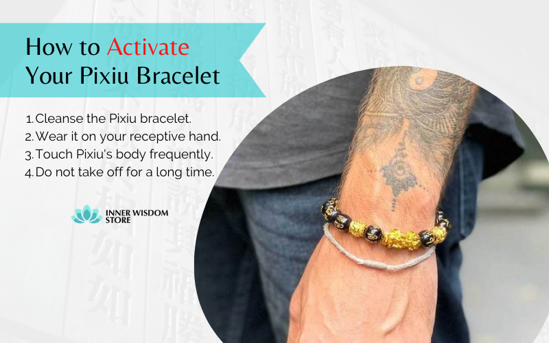 how to activate pixiu bracelet