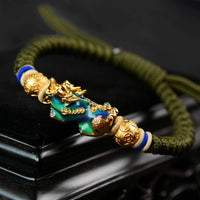 Pixiu Color-Changing Wealth Abundance Bracelet
