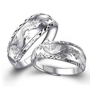 Dragon Couple Ring