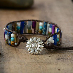 Mixed Stone Positivity Bracelet