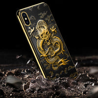 Iphone Dragon Embossed Phone Case