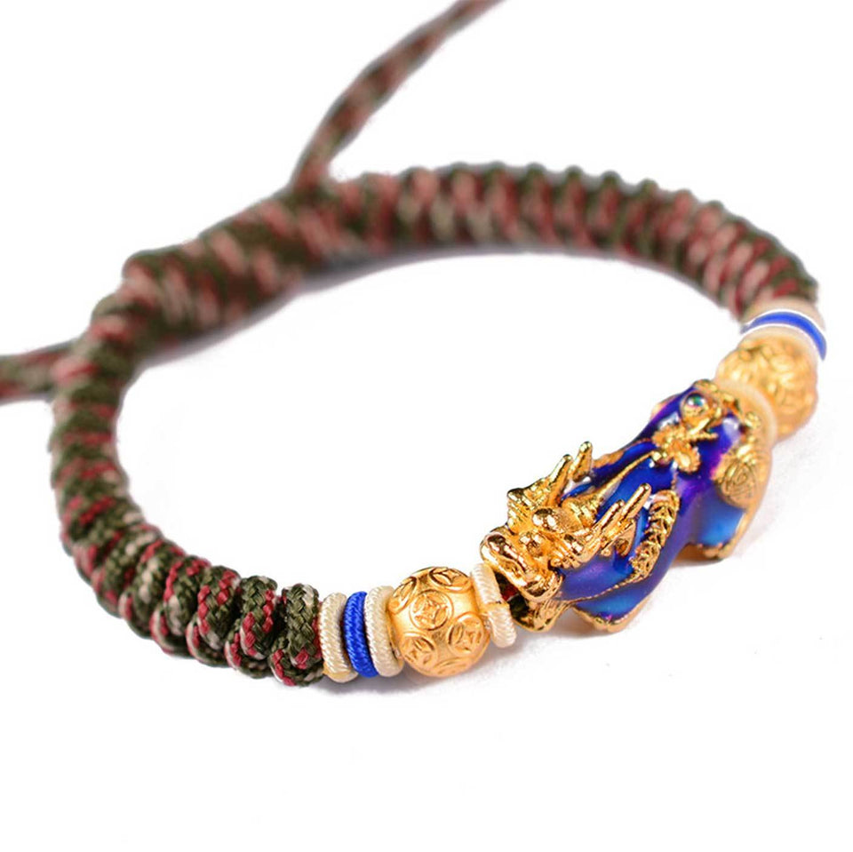 Feng Shui Pixiu Color-Changing Wealth Abundance Bracelet