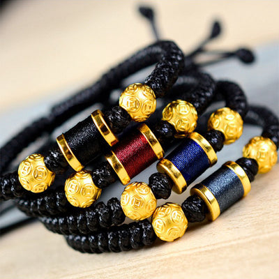 Chinese Coin Wealth and Protection Bracelet - Bracelet - Inner Wisdom Store