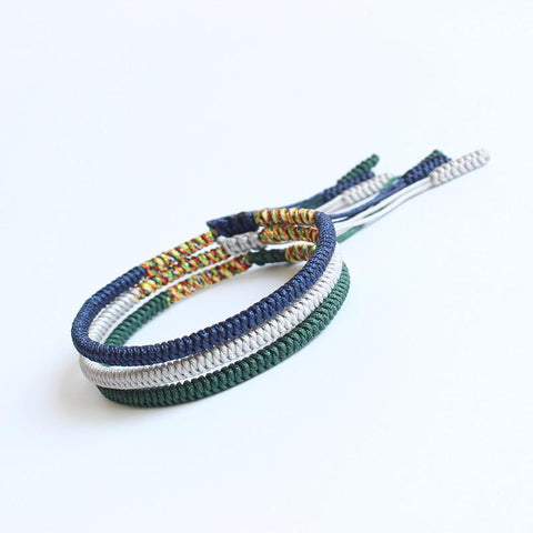 Image of Handmade Knots Lucky Rope Bracelet ( Health )