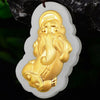 Golden Pixiu Hetian Jade Prosperity Necklace - Necklace - Inner Wisdom Store