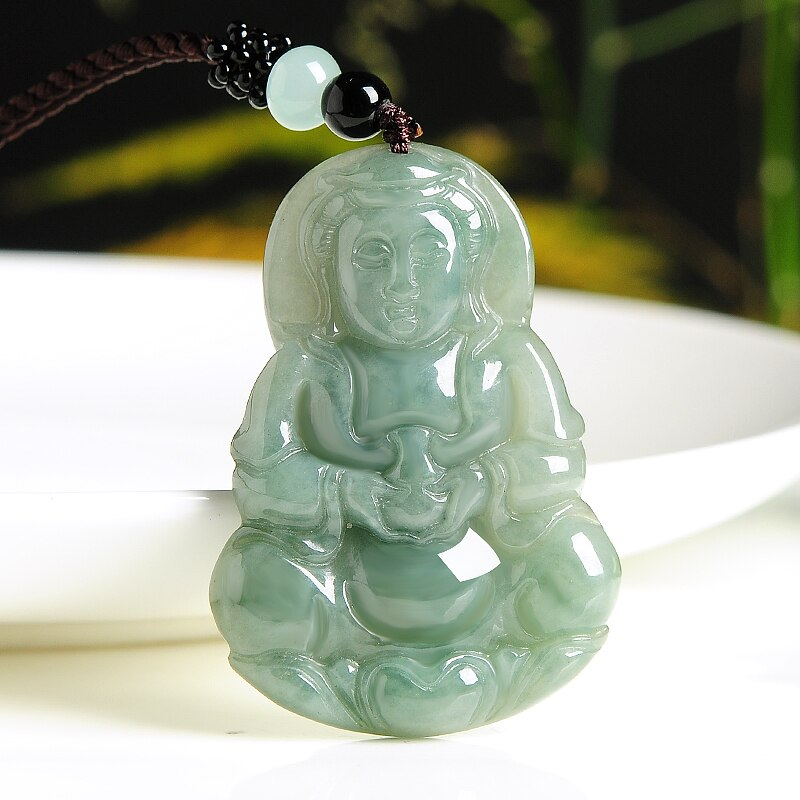 Healing Buddha Jade Necklace - Necklace - Inner Wisdom Store