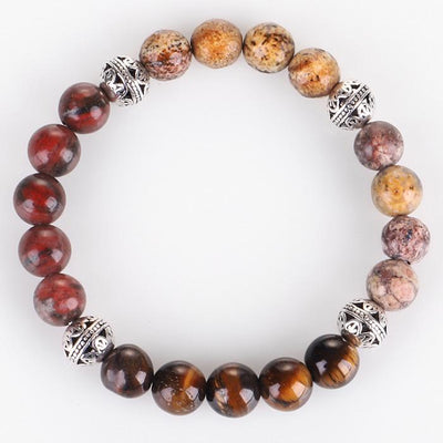 Mixed Agate Protection Bracelet - Mint & Dream
