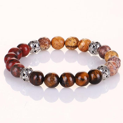 Mixed Agate Protection Bracelet
