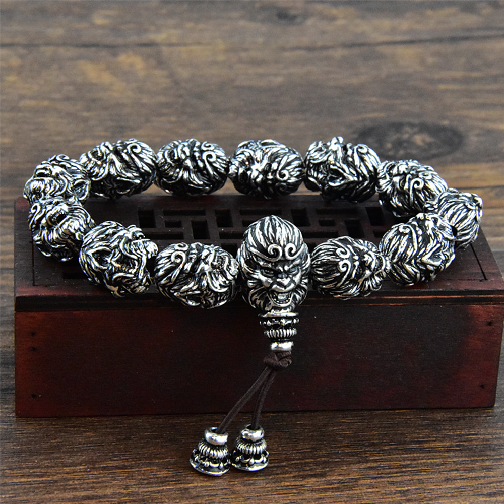 Pixiu Monkey King Success Bracelet