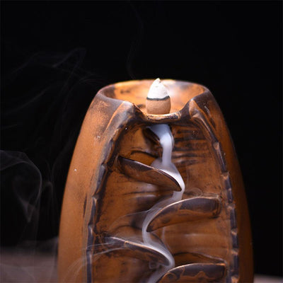 Mountain River Handicraft Reverse Incense Burner - Home Decor - Inner Wisdom Store