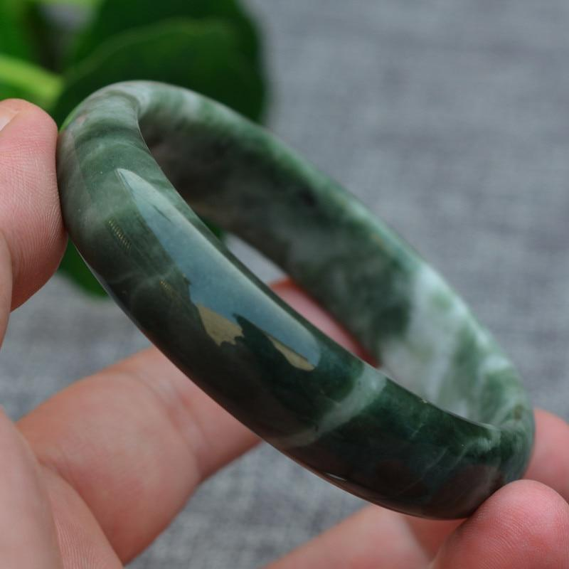 Natural Jade Bangle Healing Bracelet