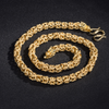 Gold Eternal Dragon Link Chain - Necklace - Inner Wisdom Store