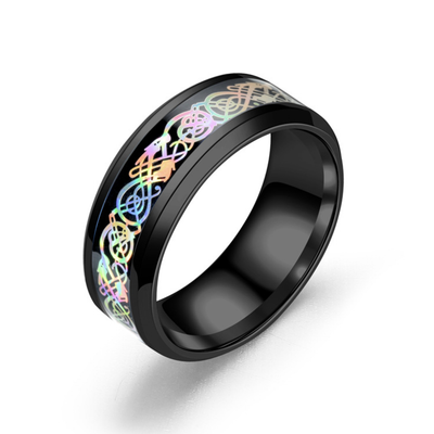 Colorful Dragon Ring