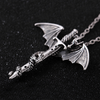 Glowing In The Dark Dragon Sword Necklace