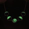 Glowing In The Dark Moon Necklace
