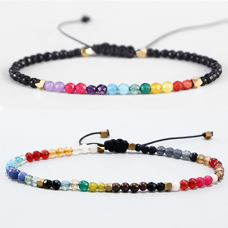 Super Exclusive 7 Chakra & 12 Constellation Bracelet - Bracelet - Inner Wisdom Store