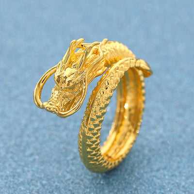 Dragon and Phoenix Couple Ring - Ring - Inner Wisdom Store