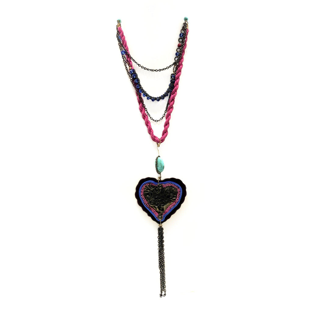 Mexico | Locura Heart Necklace