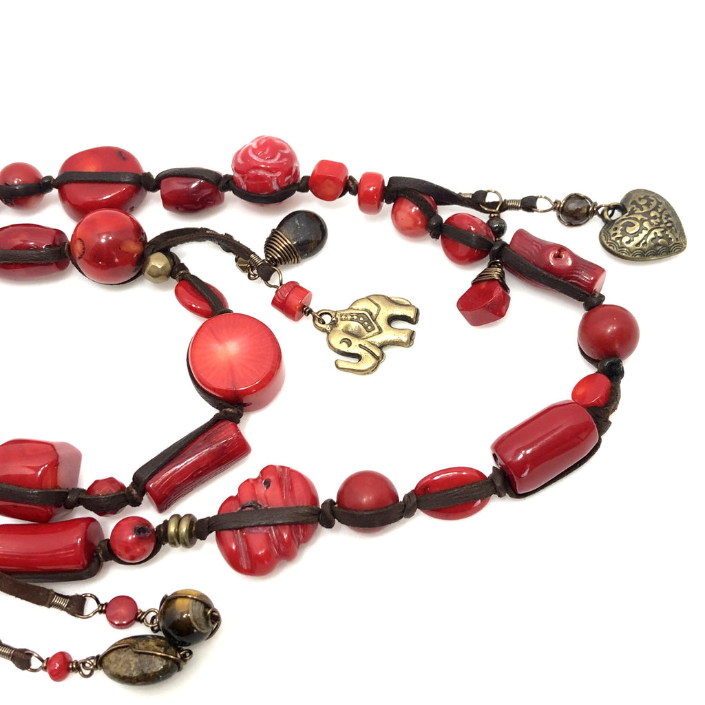 Mexico | Red Passion Necklace