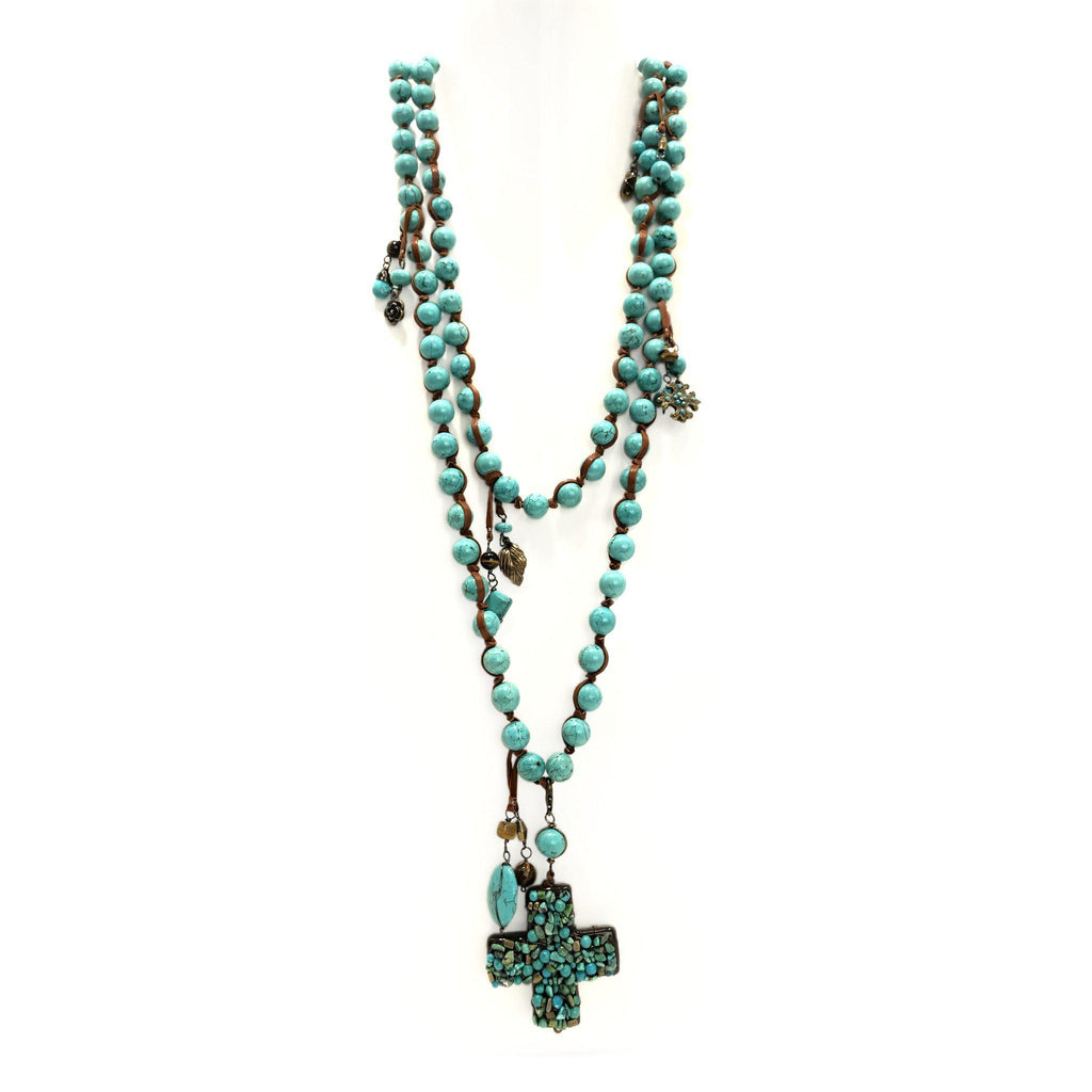 Mexico | Turquoise Lèon Cruzar Necklace