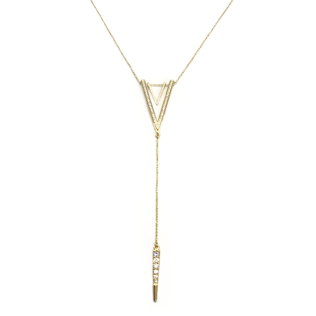 USA | Golden V Necklace