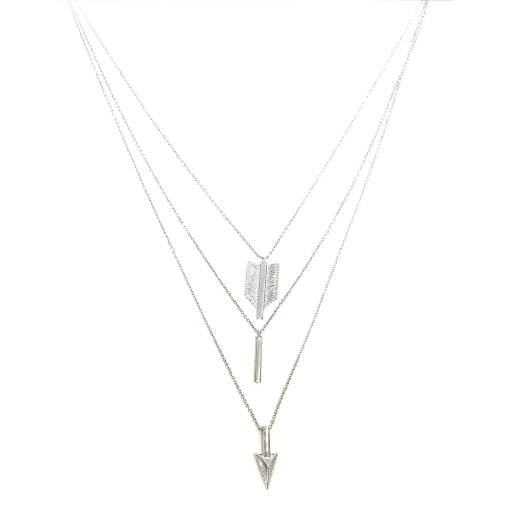 USA | Three Tier Arrow Necklace