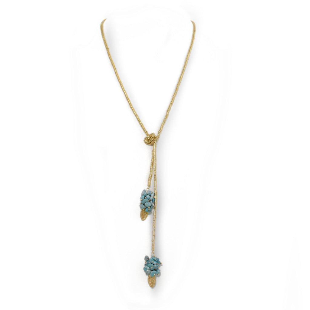 Brazil | Natal Tie Down Necklace-necklace-N.I.Kouture