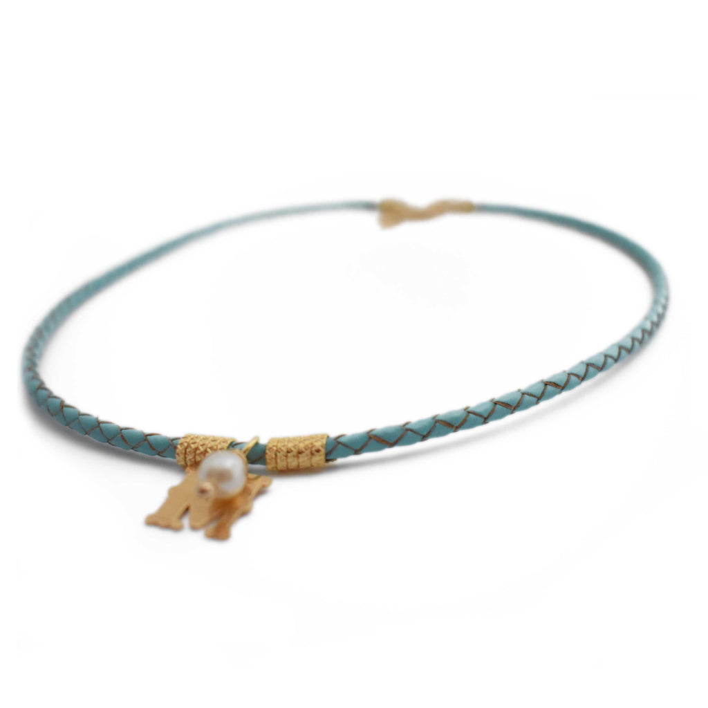 Brazil | Soft Sky Choker-necklace-N.I.Kouture