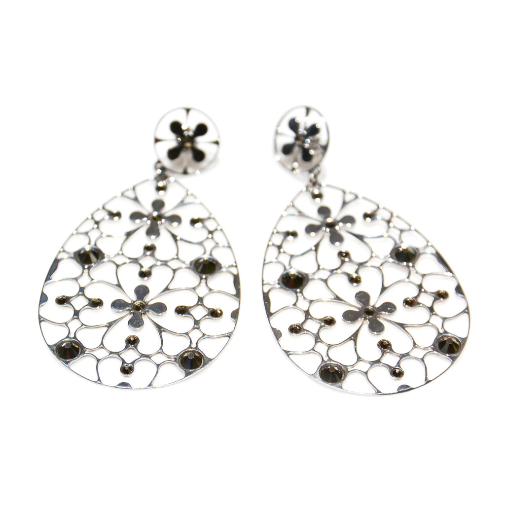 Italy | Rose Clarity Earrings