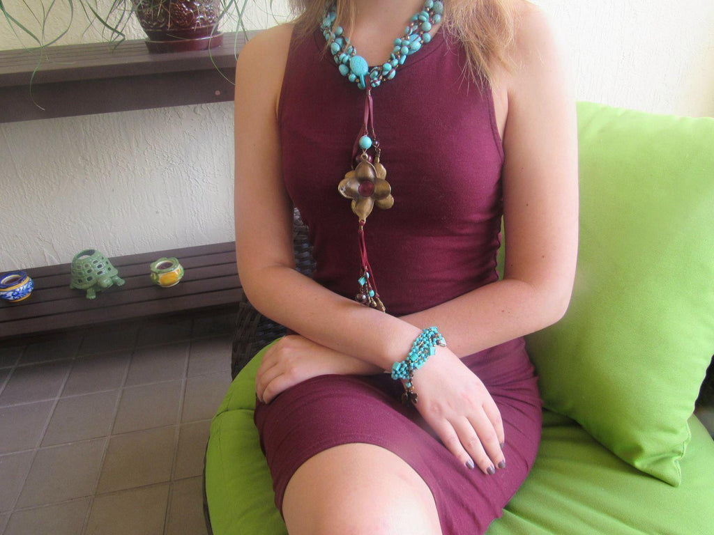 Mexico | Acapulco Days Necklace-necklace-N.I.Kouture
