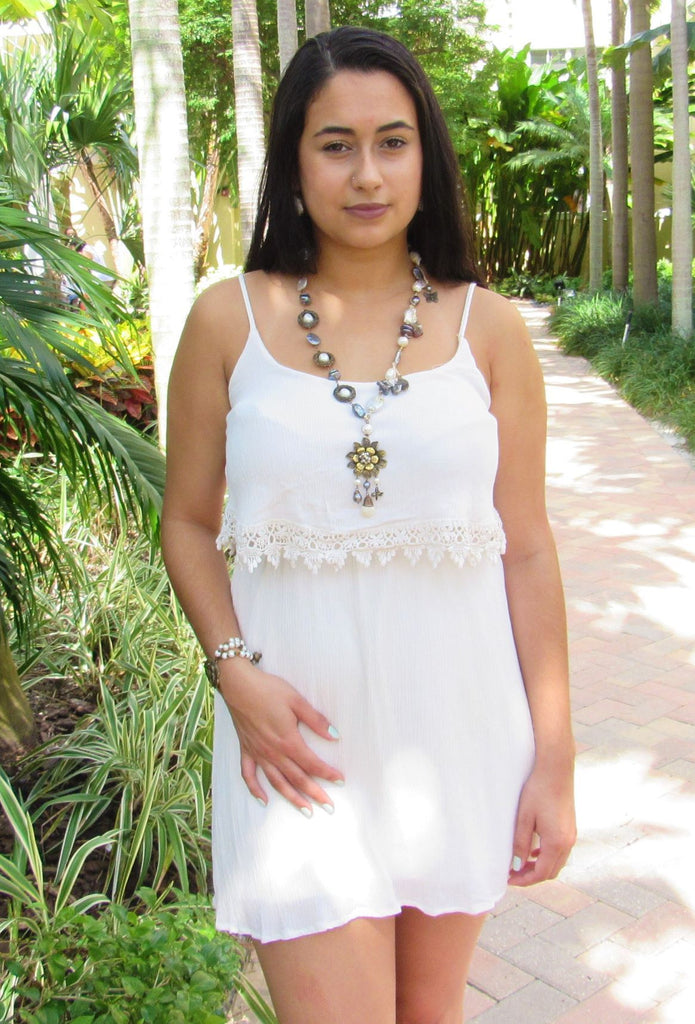 Mexico | Blanca Perla Heart Necklace-necklace-N.I.Kouture