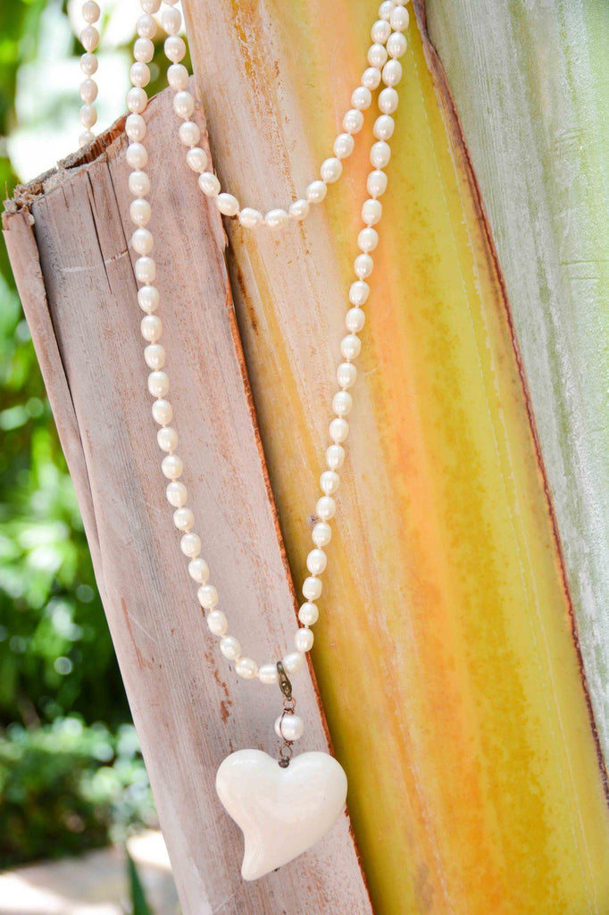 Mexico | Pearl Morelia Necklace-necklace-white-N.I.Kouture