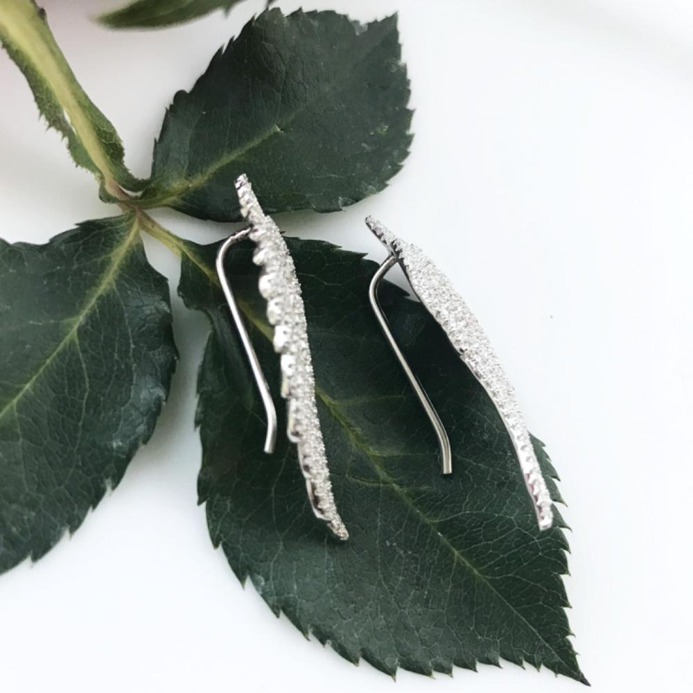 Thailand | Angel Wings Brilliance Earrings-earrings-N.I.Kouture