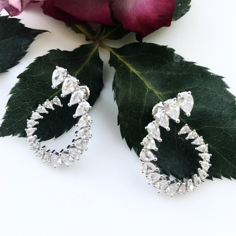 Thailand | Brilliance Swing Earrings-earrings-N.I.Kouture