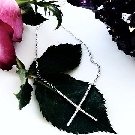Thailand | Crossing Brilliance Necklace-necklace-N.I.Kouture