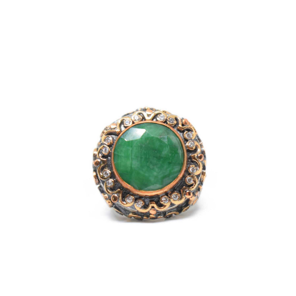 USA | Evergreen Ring-Ring-8-N.I.Kouture