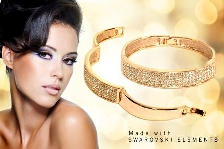 Made with Swarovski Crystal Elements Bangles and Bracelets