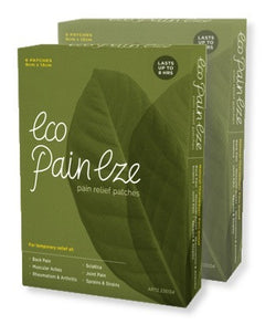 Eco PainEze - Pain Relief Patches | 12 Patches | 2 Boxes