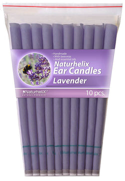 Ear Candles LAVENDER Pack 10 - 5 Pairs - Headache and Stress - Organic