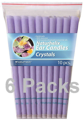 Crystals Ear Candles Pack 60 - 30 Pairs