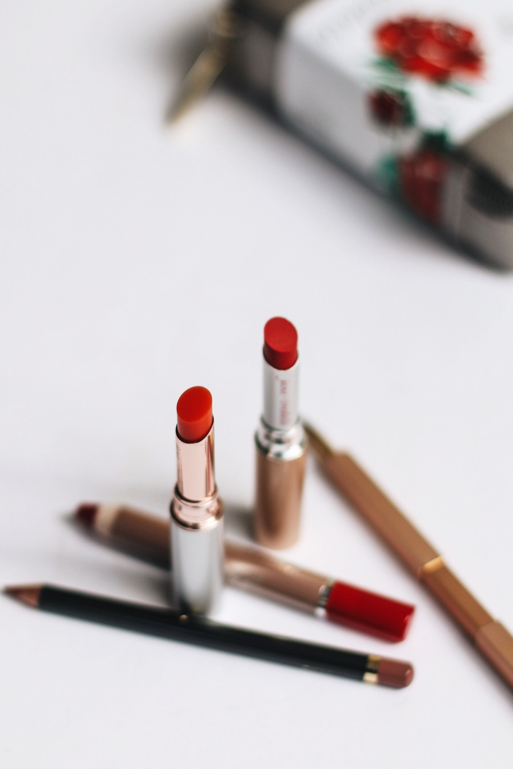 red lip products