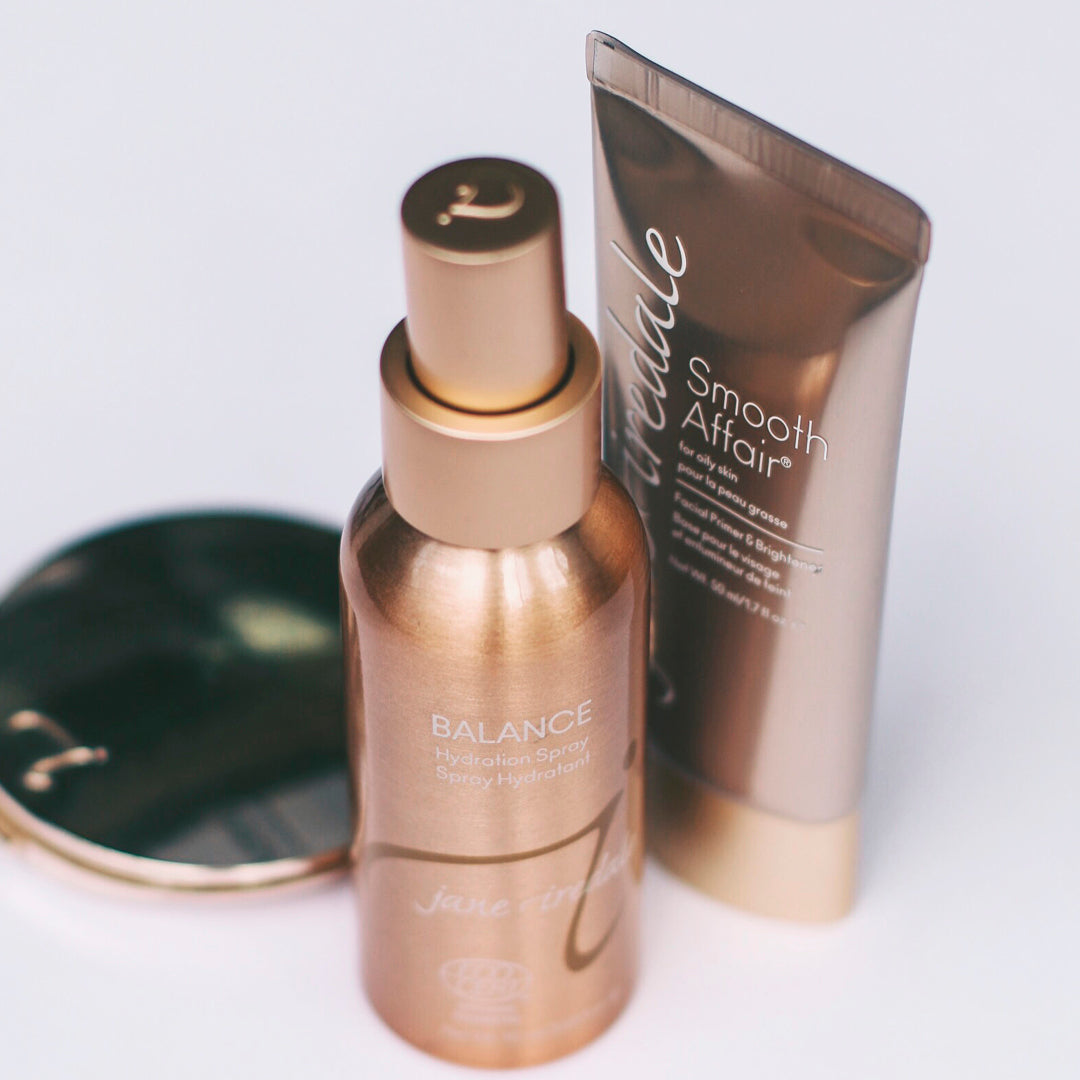jane iredale oily skin products