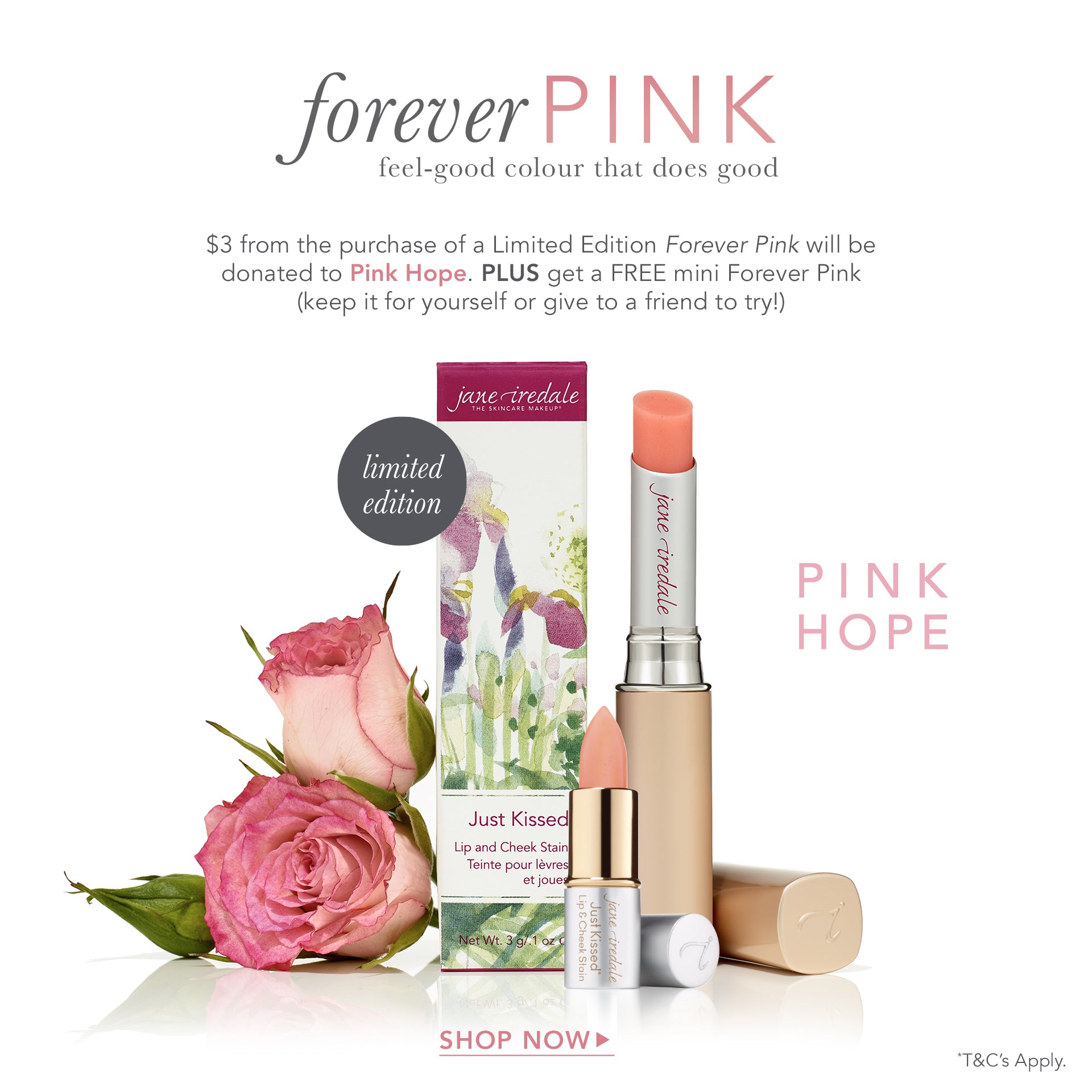 limited edition forever pink offer