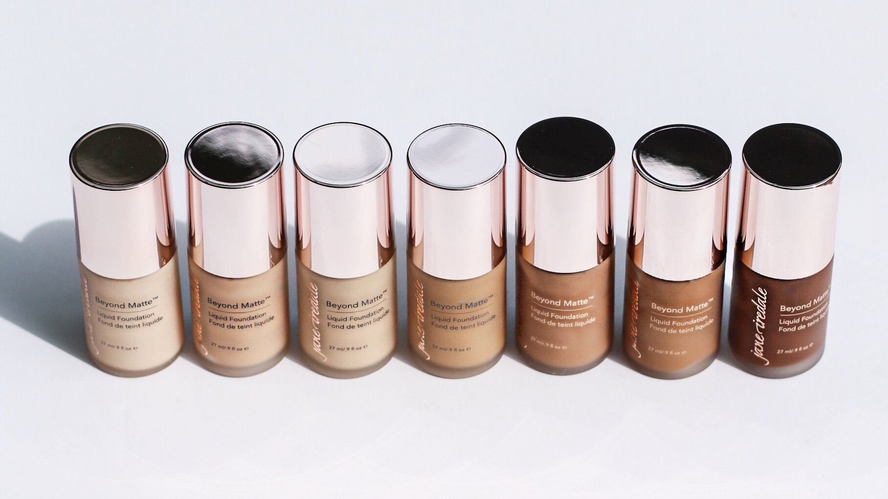 Beyond Matte Liquid Foundations