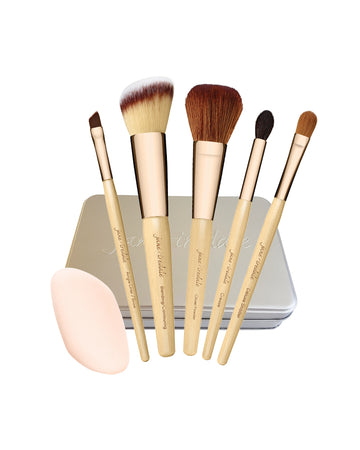 Essentials 6 Piece Vegan Brush Set - jane iredale Mineral Makeup Australia
