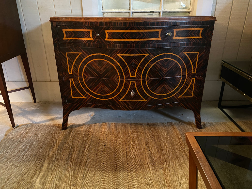 Angelo Cappellini Ornate Fruitwood Cabinet