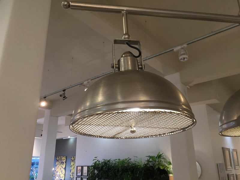 3-Light Boiler Room Chandelier