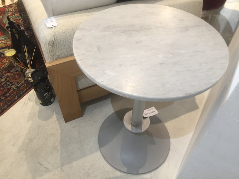 Driade 'Lord Yi' Marble Top Side Table by Philippe Starck