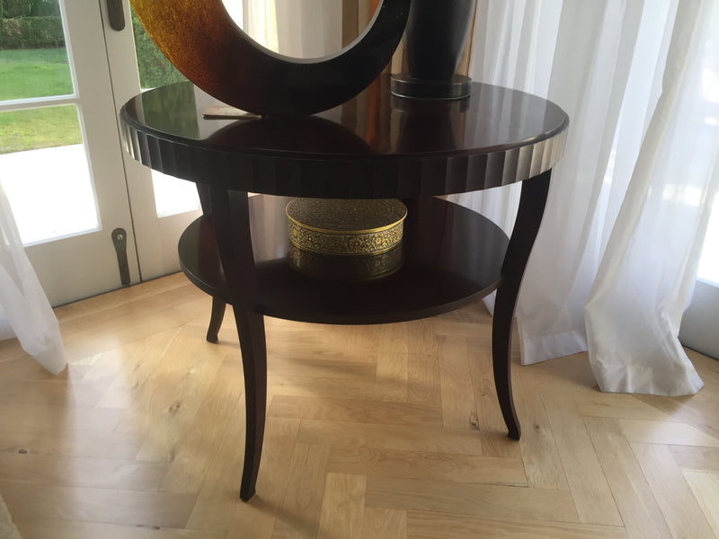 Baker (USA) Fluted Table by Barbara Barry